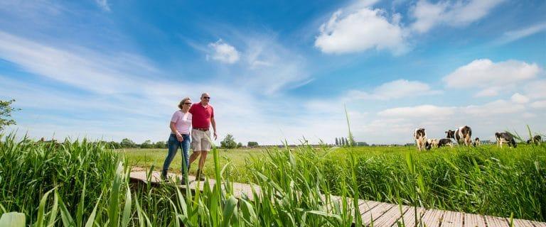Wandelroutes in Midden-Delfland