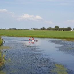 vaarroutenetwerk in Midden-Delfland