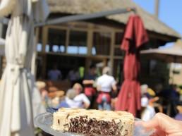 Woudtse Plak bij Koffiehuis de Hooiberg in 't Woudt